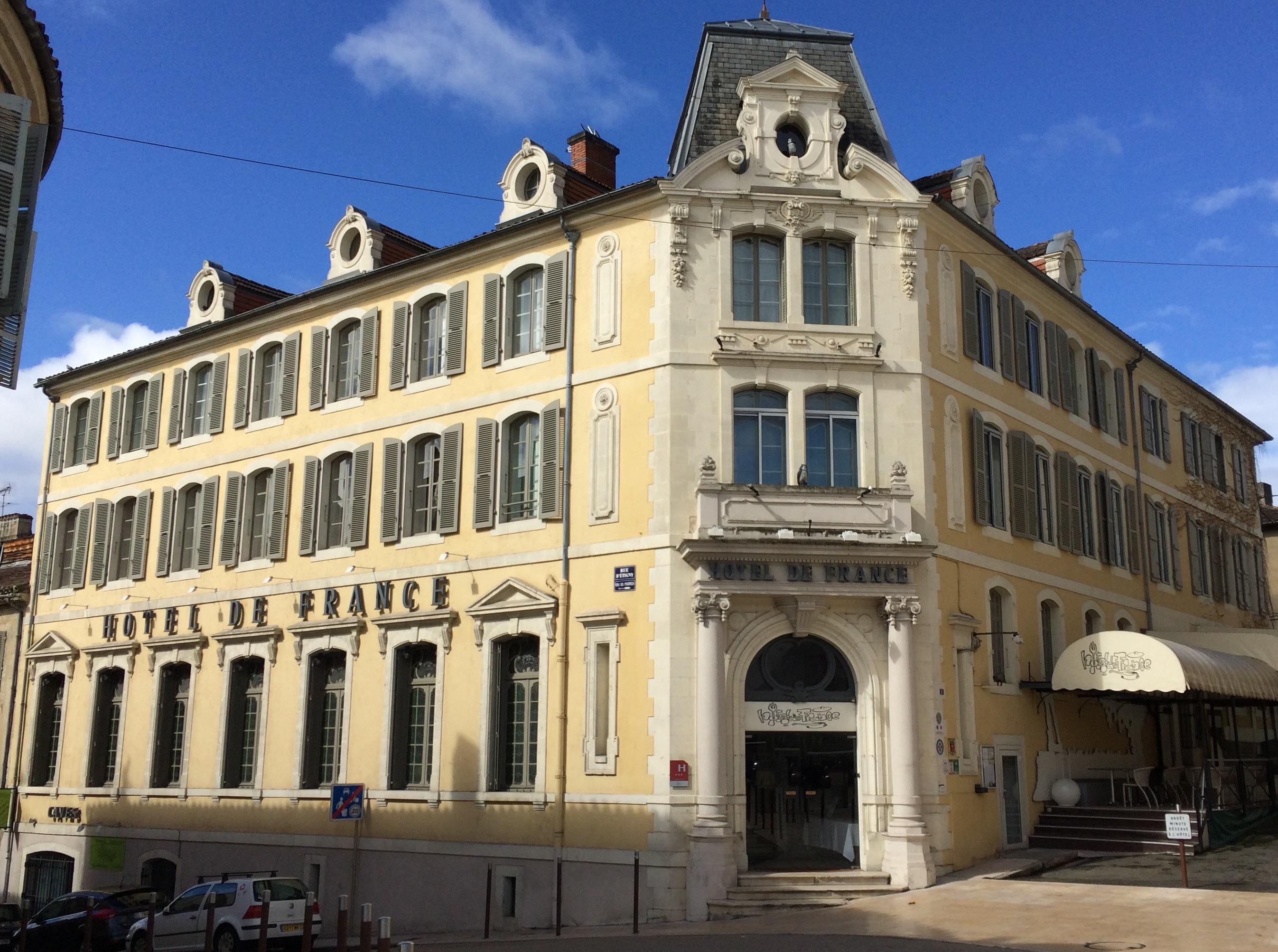Hotel de france Auch - Actualités - l'Hôtel de France un établissement ...