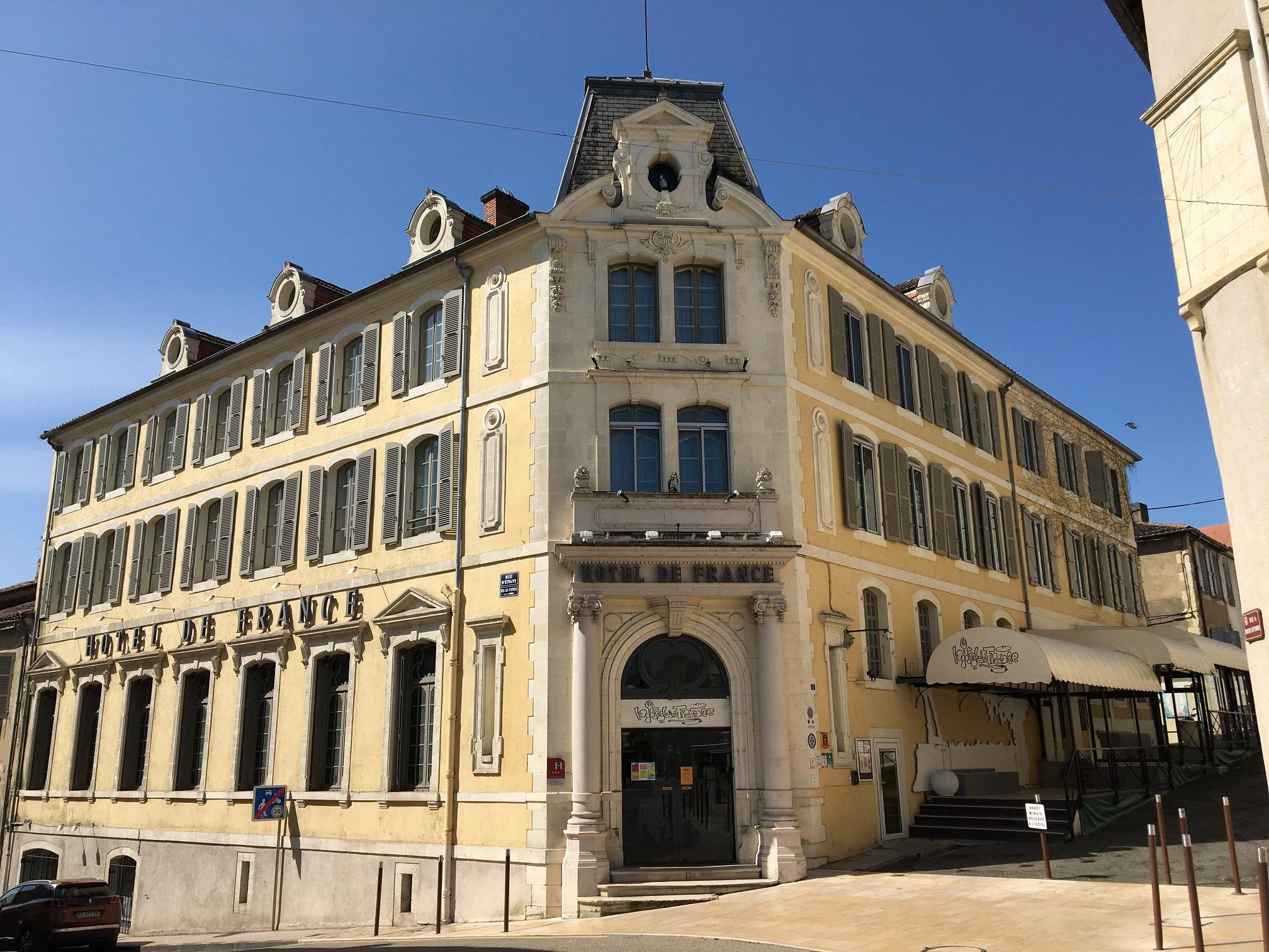 Hotel de france Auch - Actualités - HOTEL OUVERT