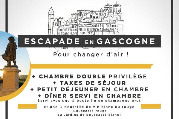 Hotel de france Auch - Offres du moment - ESCAPADE EN GASCOGNE - UN JOLI BREA...