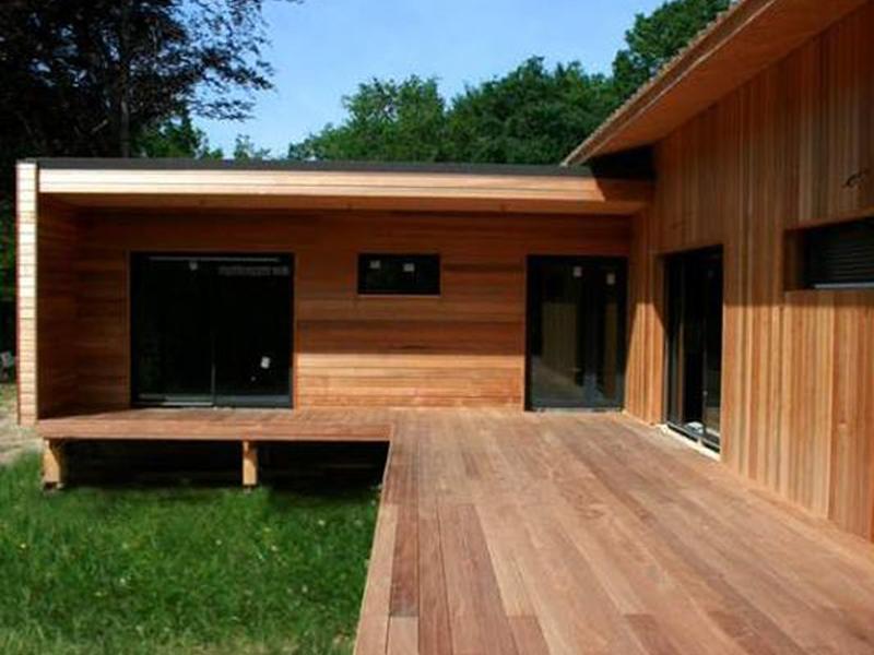 Terrains Maison ossature bois 4 chb