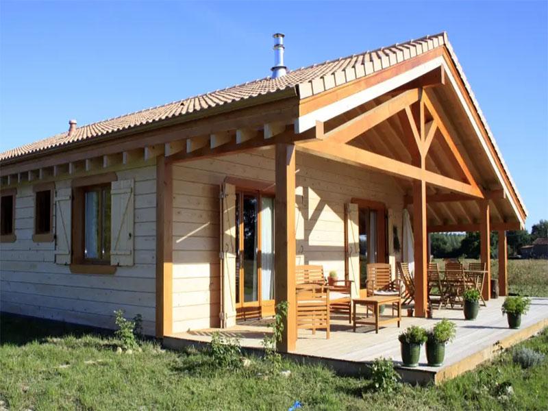 Terrain avec maison neuve 3 chambres
