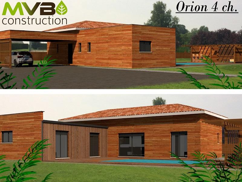 Maisons Maison Ossature Bois Orion